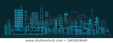 gas factory stock photo © lizard