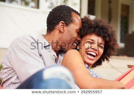 Laughing Couple Stock photo © sapegina