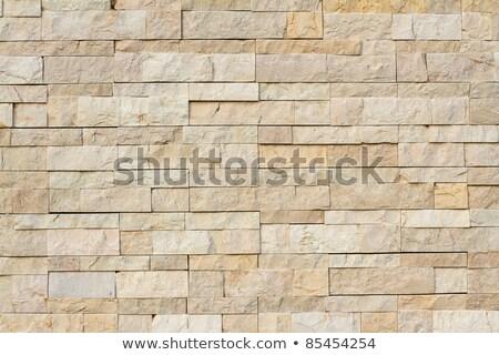 Kőművesmunka fal felület napfény textúra Stock fotó © Balefire9