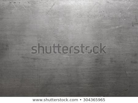 Textúra fém tányér fal űr zöld Stock fotó © zeffss