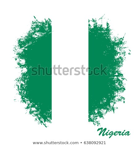 Гранж · флаг · Нигерия · старые · Vintage · гранж · текстур - Сток-фото © HypnoCreative