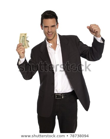 魅力的な 男 お金 手 白 ビジネス ストックフォト © utorro