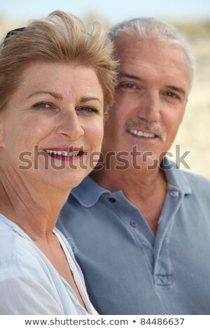 Middle-aged couple stood together Stock photo © photography33