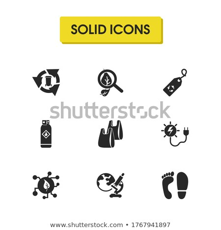 Stamp Conserve los Recursos Naturales Renovables Stock photo © cla78