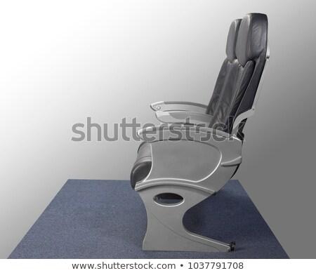 airplane seat row stock photo © simply