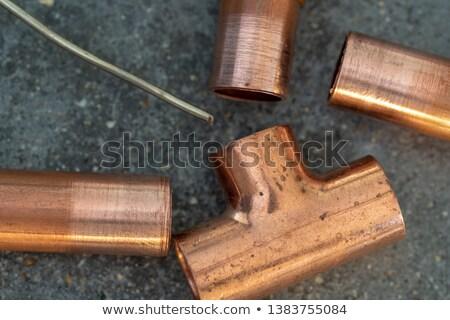 constructeur · pipe · salle · de · bain · maison · construction - photo stock © photography33