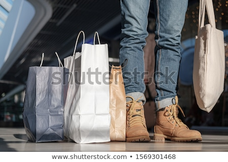 Couple on a shopping frenzy. Stock photo © photography33