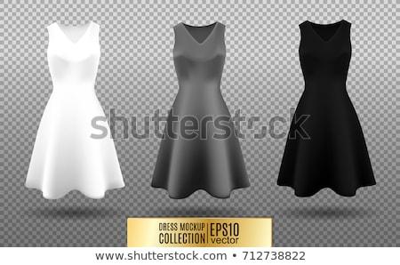 classical up-skirt image Stock photo © dolgachov