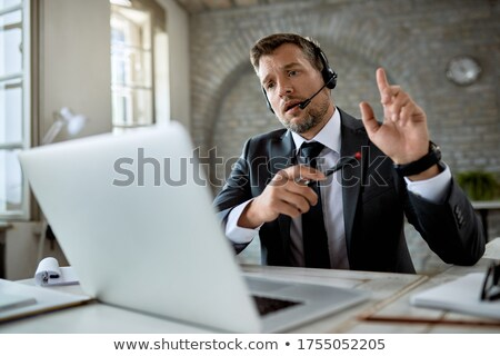 businessman making a call stock photo © photography33