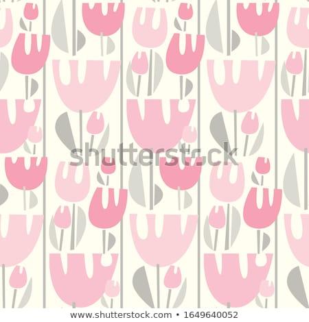 Сток-фото: аннотация · весны · цветочный · декоративный