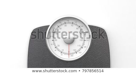3d bathroom weight scale Stock photo © ribah