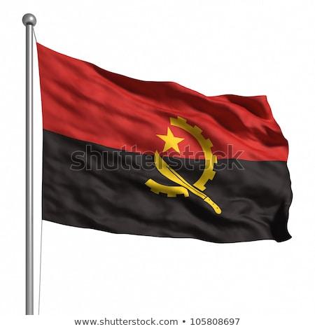 bayrak · Tiftik · dokuma · büyük · boyut · örnek · ülke - stok fotoğraf © maxmitzu