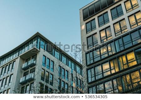 Big apartment building in Berlin  Stock photo © elxeneize