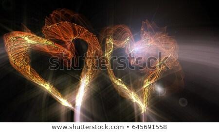 wave heart sparkler 2 Stock photo © Paha_L