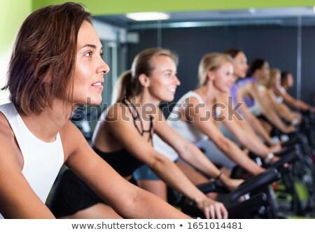 Workout on facilities Stock photo © pressmaster