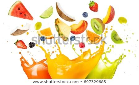 görögdinnye · koktél · étel · gyümölcs · szín · reggeli - stock fotó © m-studio