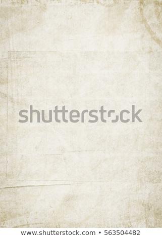 brûlant · pliées · vieux · papier · texture · art · antique - photo stock © inxti