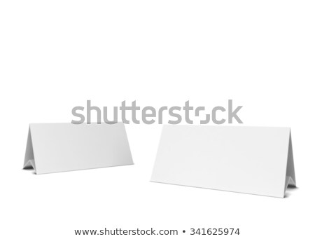 reservation sign Stock photo © almir1968