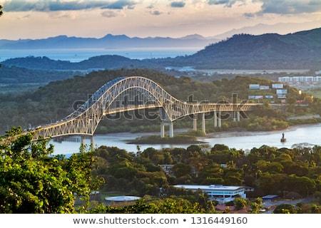Bridge of the Americas Stock photo © dacasdo