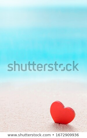 red hearts valentine background vertical Stock photo © chesterf