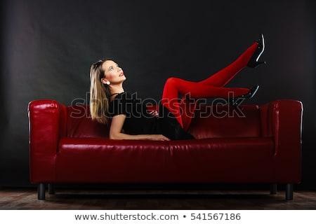 женщины чулки платье обувь фото женщину Сток-фото © tab62