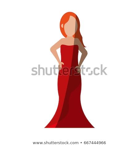 ガウン 美しい 女性 少女 セクシー ストックフォト © disorderly