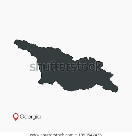 Georgia map Stock photo © Volina