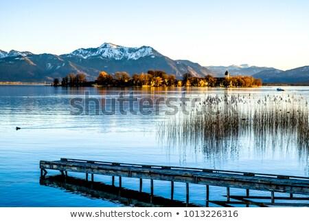 the famous fraueninsel island lake chiemsee stock photo © haraldmuc