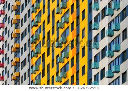 красочный фасад рыбак Англии город зеленый Сток-фото © dutourdumonde