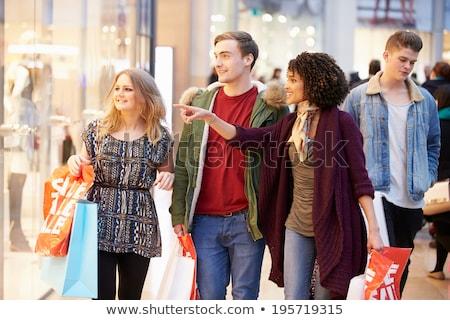 4 幸せ 女性 美しい カラフル ストックフォト © AndreyPopov