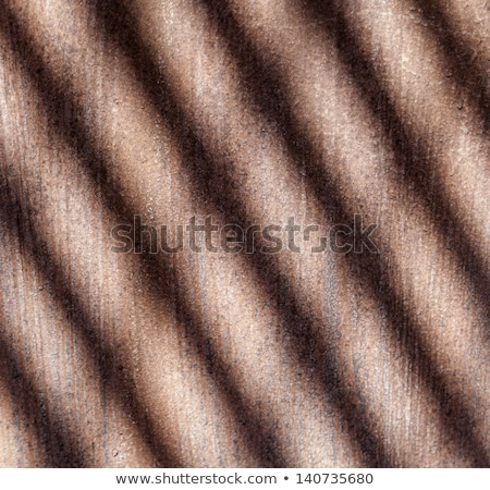 pattern of rusty chimney with reflection of son stock photo © meinzahn