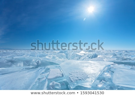 Ice pieces. Stock photo © Fisher