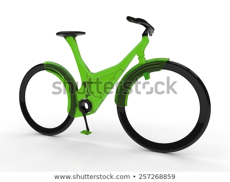Futuristic bicycle. Stock photo © Fisher