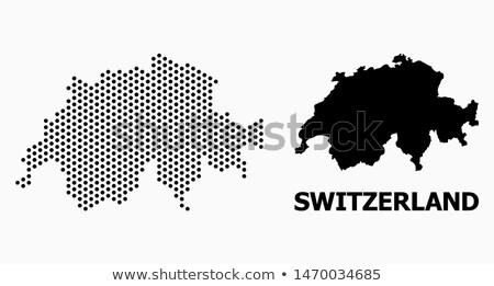 térkép · western · Szahara · pont · minta · vektor - stock fotó © istanbul2009