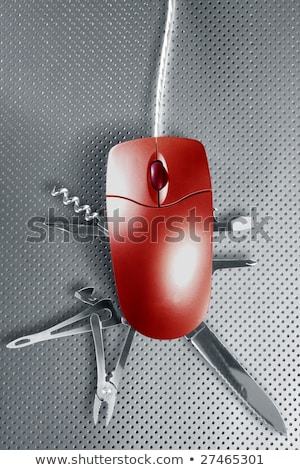mouse metaphor pretending to be a swiss multifunction Stock photo © jarin13