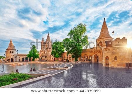 Rybaka bastion Budapeszt Węgry ściany Zdjęcia stock © goce