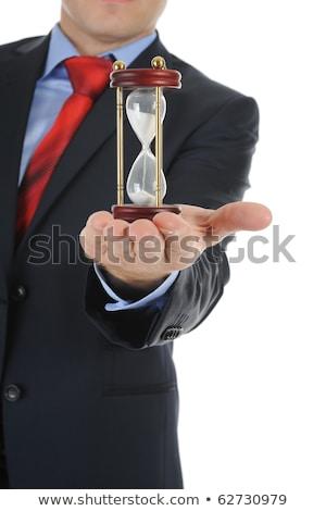 tempo · soldi · clessidra · business · clock · vetro - foto d'archivio © mikola249