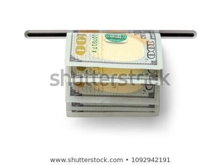 наличных · деньги · стены · Финансы · службе · кирпичных - Сток-фото © uatp1