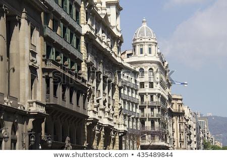 Historic building in Barcelona Stock photo © elxeneize