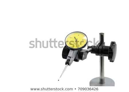 Dial gauge on a measuring stand Stock photo © pixpack