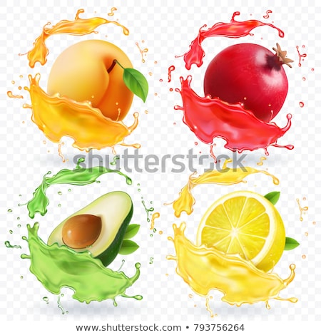 Photorealistic Lemon Isolated Stock photo © smeagorl