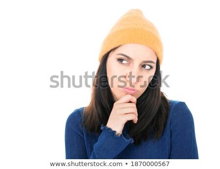 Annoyed pretty hipster  Stock photo © wavebreak_media
