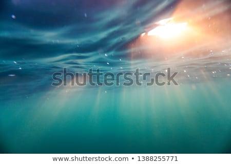 Abstracción agua sol subacuático vista Foto stock © EvgenyBashta