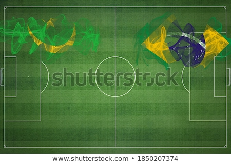 Brazil and Mauritania Flags Stock photo © Istanbul2009