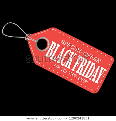 Photo stock: Holiday Price Tag Group