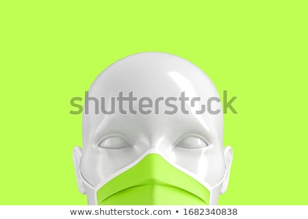 Insult. Medical Concept on Green Background. Stock photo © tashatuvango