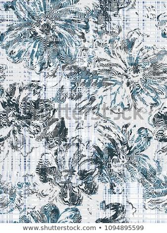 floral seamless grunge pattern stock photo © olgaaltunina
