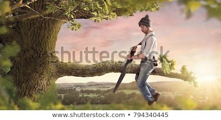pessoa · imagem · abstrato · tempo · conceito · on-line - foto stock © hofmeester