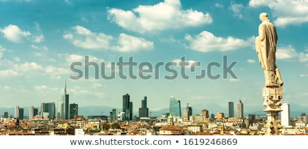 wide view of the city of porto stock photo © homydesign