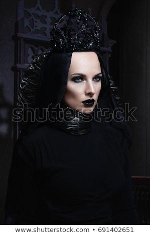 Сток-фото: модный · женщины · зомби · иллюстрация · белый · фон